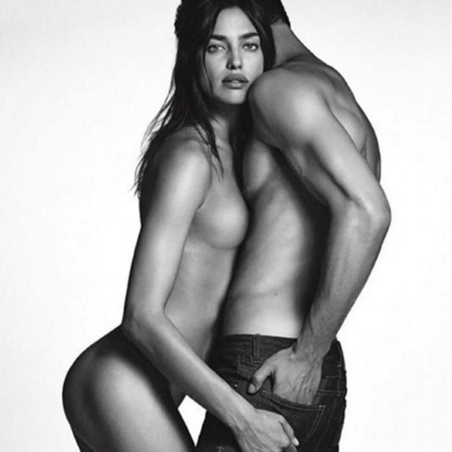 Irina Shayk completamente desnuda, la fantasía de Instagram