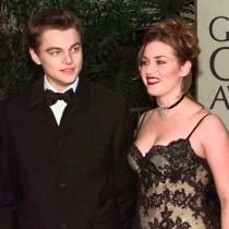 Kate Winslet y DiCaprio, cuando rodaron Titanic