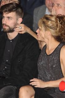 Shakira, todo mimos con Piqué