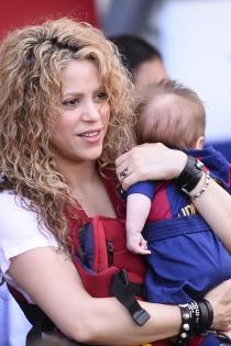 Shakira, una madre muy entregada a su familia