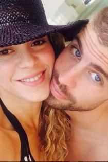 Shakira y Piqué, amor en Instagram