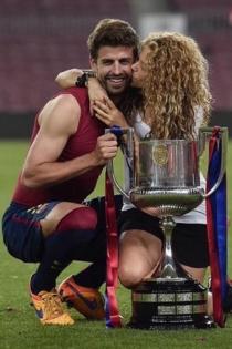 Shakira, la fiel seguidora del Barça y Piqué