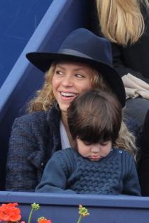 Shakira, una madre enamorada de sus hijos