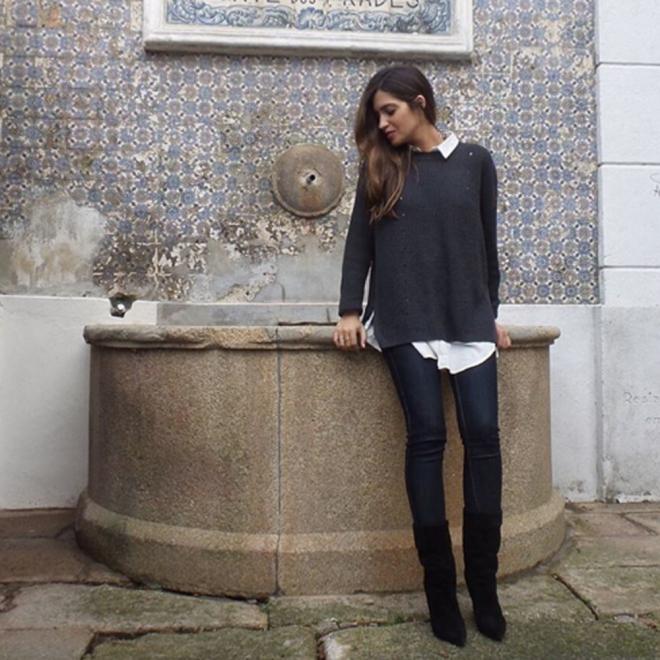 Sara Carbonero, descubriendo los rincones de Oporto