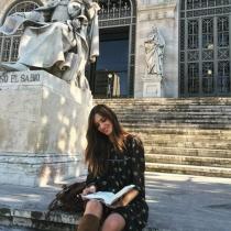 Sara Carbonero, siempre aprendiendo en su nueva vida