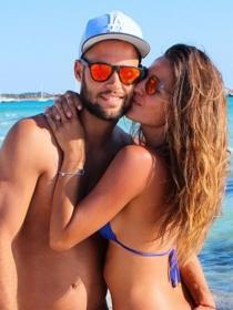 Malena Costa y Mario Suárez, siempre enamorados