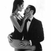 Malena Costa y Mario Suárez, pura pasión