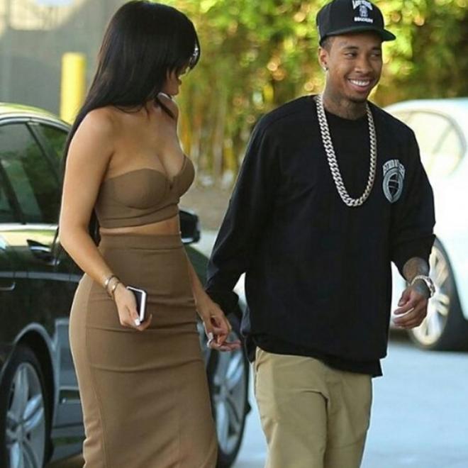 Tyga y Kylie Jenner no se separan a sol ni a sombra