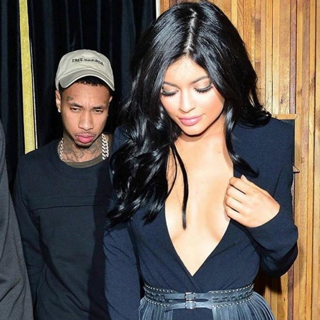 Kylie Jenner, siempre bien escoltada por Tyga