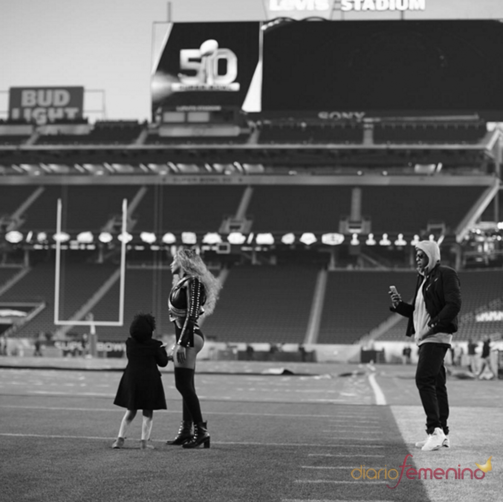 Super Bowl 2016: Beyoncé, Jay Z y Blue Ivy en Instagram