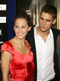 Martín Rivas e Irene Escolar, una pareja de cine