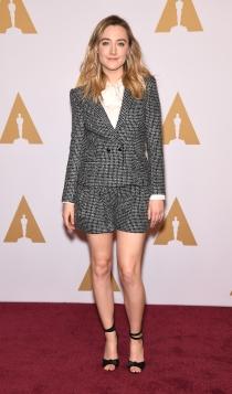 Oscars 2016: Saoirse Ronan, sencilla pero estupenda