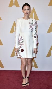 Oscars 2016: Rooney Mara, siempre estupenda
