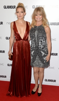 Madres e hijas actrices: Goldie Hawn y Kate Hudson