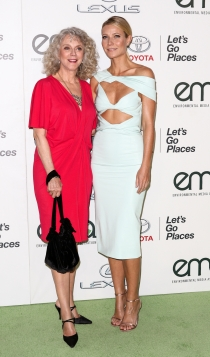 Madres e hijas actrices: Blythe Danner y Gwyneth Paltrow