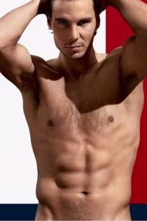 Hombres desnudos del deporte: Rafael Nadal, perfecto para Tommy Hilfiger