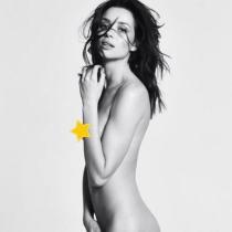 Famosas desnudas en Instagram: Dafne Fernández, como su madre le trajo al mundo