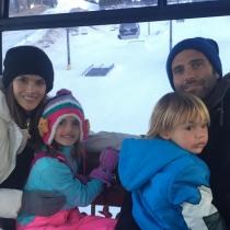 La bonita familia de Alessandra Ambrosio y Jamie Mazur
