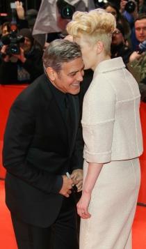 Berlinale 2016: George Clooney y Tilda Swinton, pura complicidad