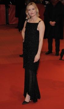 Berlinale 2016: Kirsten Dunst, total black
