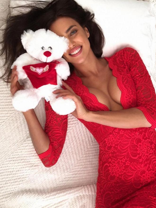 San Valentín en Instagram: el lado más dulce de Irina Shayk