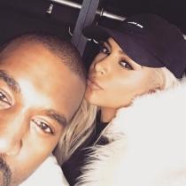 San Valentín en Instagram: Kim Kardashian y Kanye West