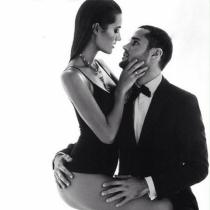 San Valentín en Instagram: Malena Costa, sexy con Mario Suárez