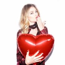 San Valentín en Instagram: Doutzen Kroes, todo corazón