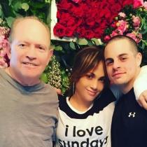 San Valentín en Instagram: JLo, 14 de febrero con Casper Smart