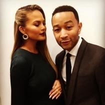 San Valentín en Instagram: John Legend, encantado con Chrissy Teigen
