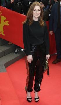 Berlinale 2016: Julianne Moore apuesta por los brillos