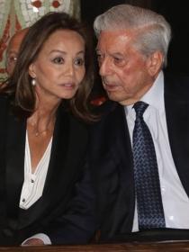 Vargas Llosa, enamoradísimo de Isabel Preysler