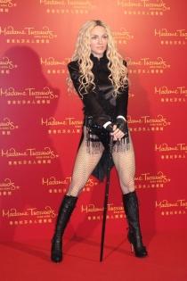 Madonna, muy sexy en figura de cera