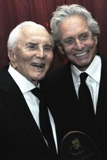 Padres e hijos actores: Kirk y Michael Douglas