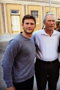 Padres e hijos actores: Scott y Clint Eastwood