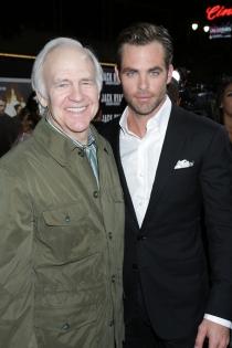 Padres e hijos actores: Robert y Chris Pine