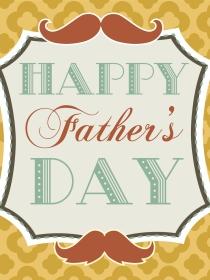 Tarjetas para el Día del Padre: la sencillez de lo natural