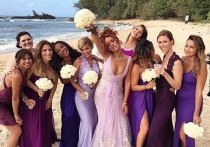 Rihanna, la anti dama de honor en la boda de su asistente