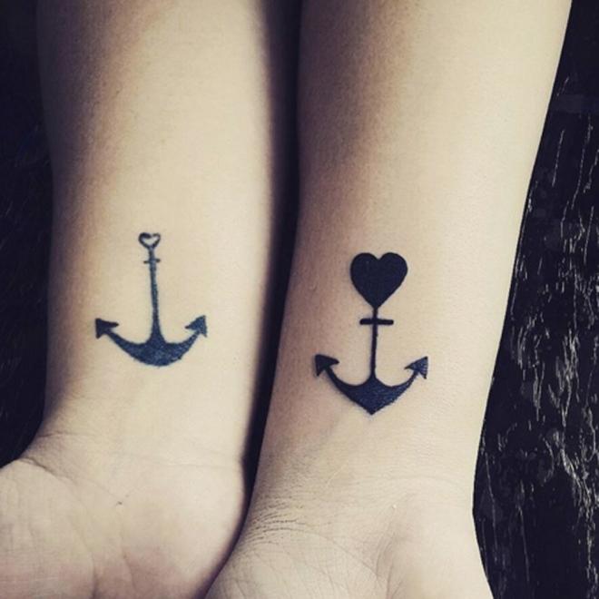 Tatuajes Para Parejas Las Anclas Del Amor