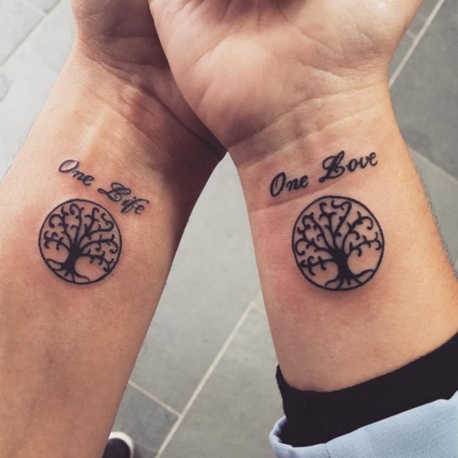 Tatuajes Para Parejas Un árbol En Constante Crecimiento
