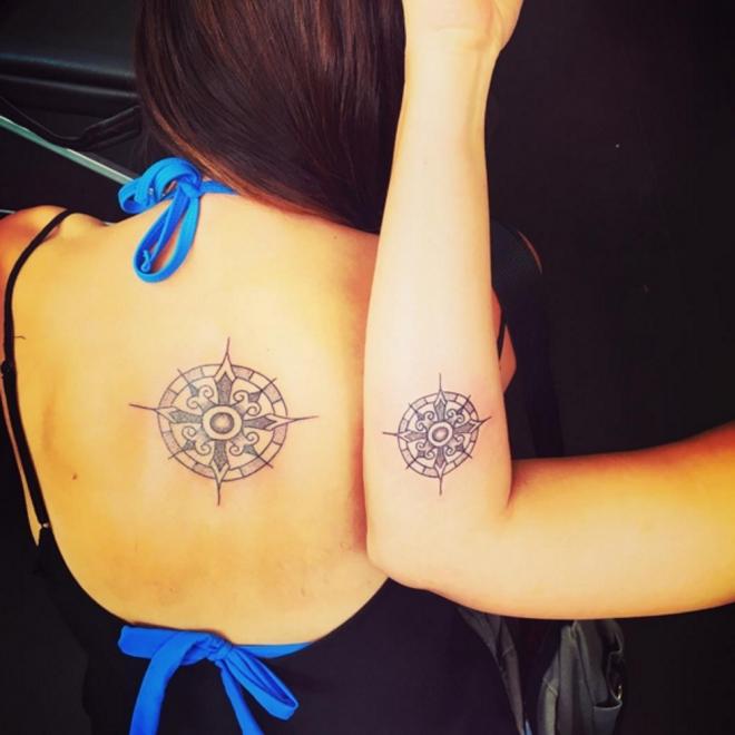 Tatuajes para hermanas: un diseño único