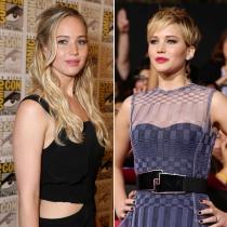 Cortes de pelo famosas: Jennifer Lawrence apuesta por los cambios