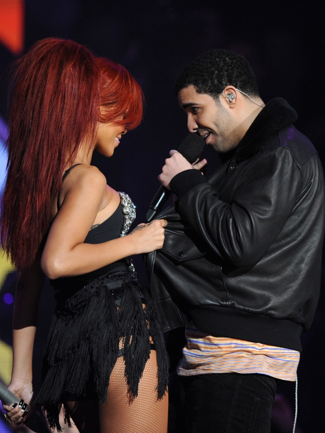 Drake y Rihanna, complicidad en el escenario