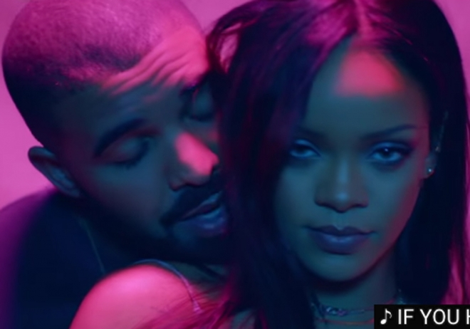 Rihanna y Drake, fuego y pasión en Work