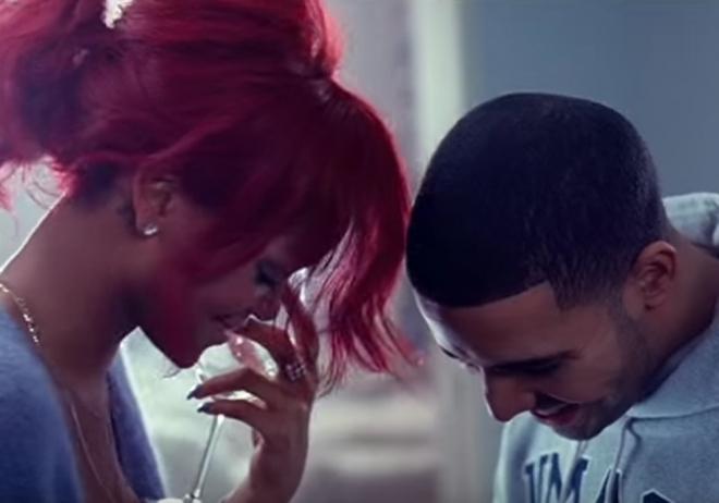 La complicidad de Rihanna y Drake en sus videoclips