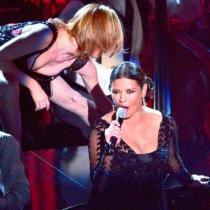 Momentazos Oscars: Catherine Zeta Jones a punto de dar a luz
