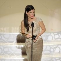 Actrices que tienen un Oscar: Sandra Bullock, con su estatuilla