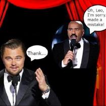 Memes Oscars 2016: Leonardo DiCaprio y Steve Harvey