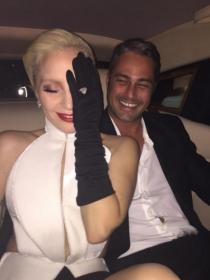 Oscars 2016 en Instagram: la emoción de Lady Gaga