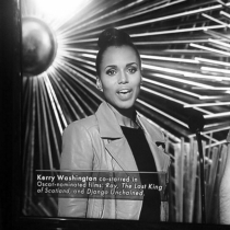 Oscars 2016 en Instagram: Kerry Washington en plenos preparativos